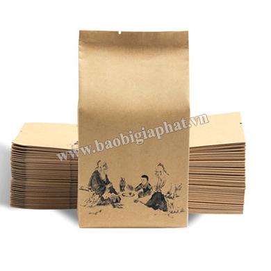 In túi  giấy kraft 1 màu| baobigiaphat.vn