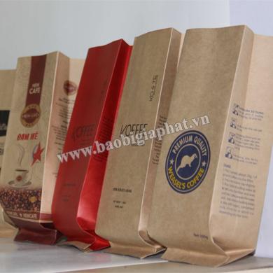 In túi cafe giấy kraft| baobigiaphat.vn